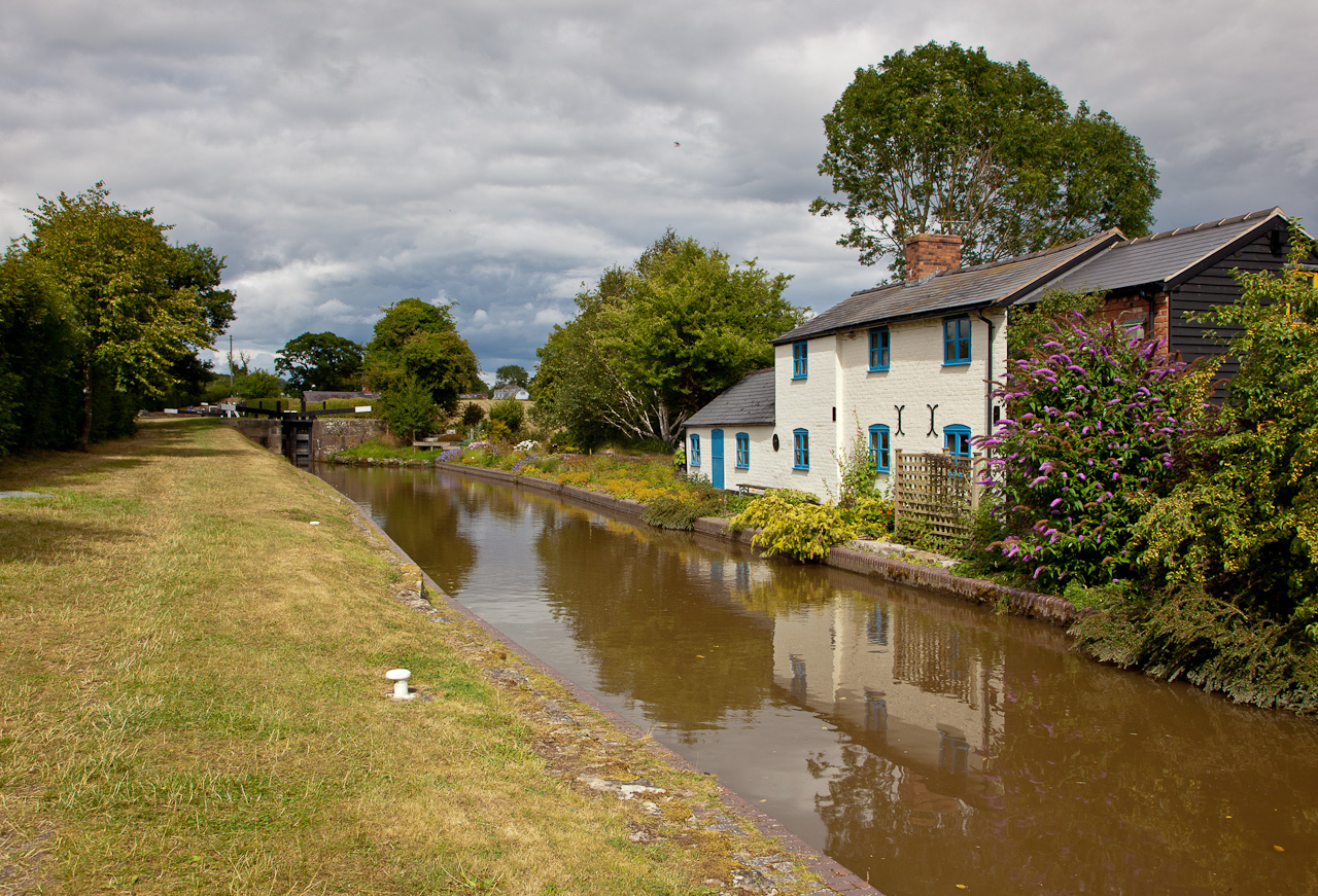 Cottage at Second Lock along Mongomery Canal from Frankton Junction