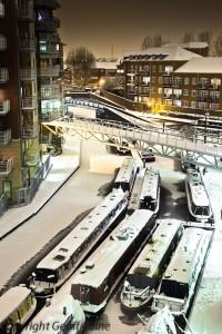 Frozen Oozels Loop on the BCN in Birmingham