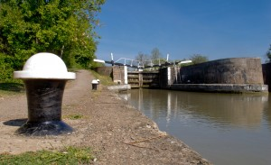 Gog's eye view of Bascote Lock 17