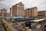 Victoria Basin in Gloucester Docks