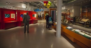 M Shed, Copious use of saturated colour lifts the tone of the museum.