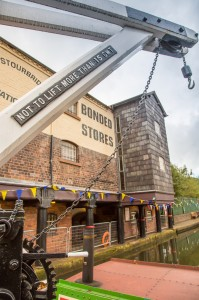The Bonded Warehouse at Stourbridge dating from 1799