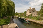 Iffley Lock from the south.